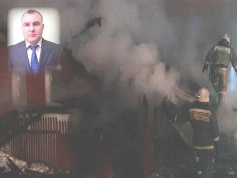 В Новосибирске машинист спас трех детей и маму из горящего дома