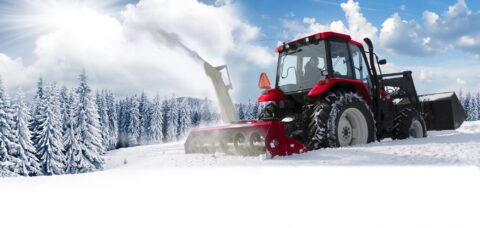 Новые машины для уборки снега обойдутся Новосибирску в 150 млн рублей