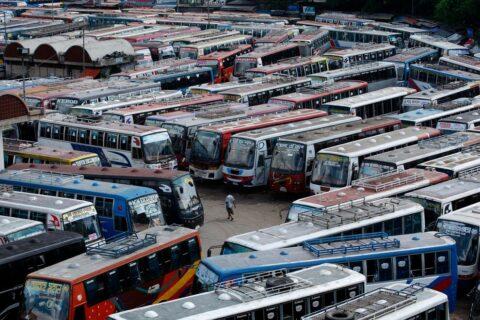 В Новосибирск привезут 55 новых автобусов