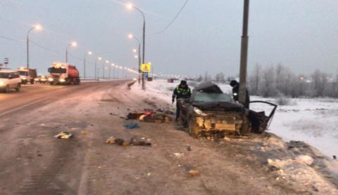 ДТП под Новосибирском: двое погибли и двое пострадали