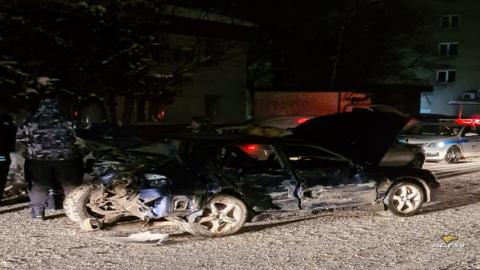 Массовое ДТП в Новосибирске: тяжело пострадал пассажир