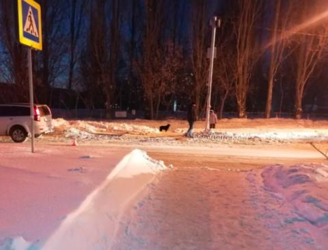 12-летнего мальчика сбили в метре от пешеходного перехода в Новосибирске