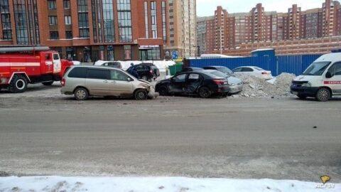 В Новосибирске случилось несколько жестких ДТП