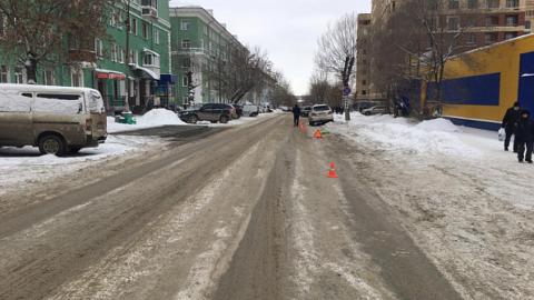 В Новосибирске сбили женщину с ребёнком