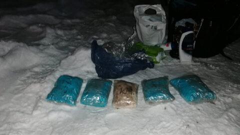 В рюкзаке пьяного новосибирца нашли более 2 килограммов наркотиков