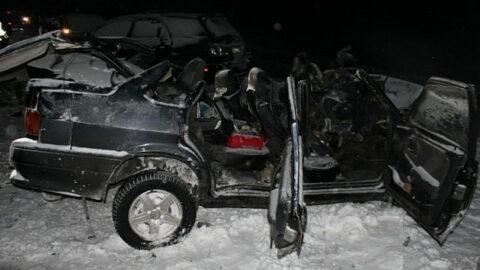 ДТП на трассе в Новосибирской области - погибли два человека