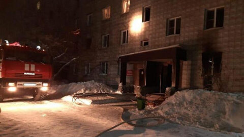 Пожар в бердской многоэтажке - погибли два человека