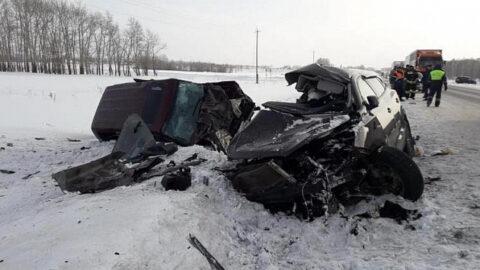 ДТП на Чуйском тракте - погибли три человека