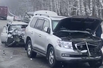 ДТП на встречке под Новосибирском - пострадала девушка