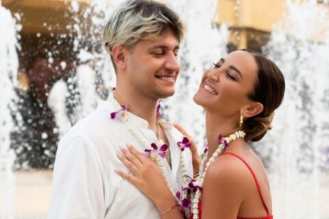 Новосибирский блогер Дава сыграл свадьбу с Ольгой Бузовой на Мальдивах