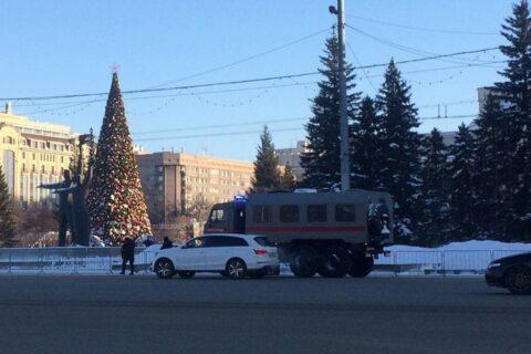 Правоохранительные органы Новосибирска перекрыли центр
