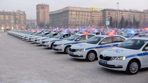 98 новых патрульных автомобилей получили сотрудники новосибирской Госавтоинспекции