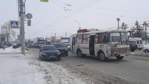 В аварии в Новосибирске пострадали два пешехода