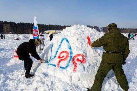 Жилища эскимосов строили в Новосибирске
