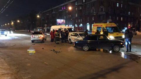 В аварии в Новосибирске пострадала пятилетняя девочка