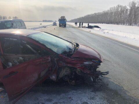 В аварии на Чуйском тракте один погиб человек