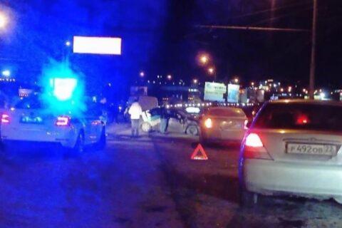 На проезде Энергетиков в Новосибирске случилась массовая авария