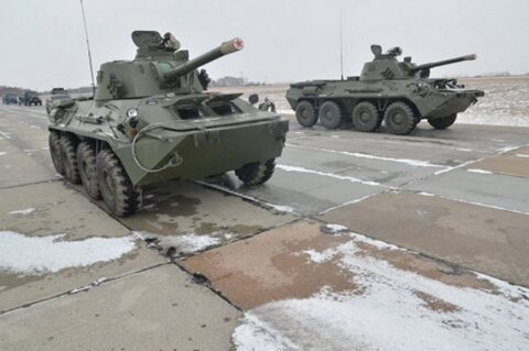 В Новосибирск едет военная техника для участия в параде Победы