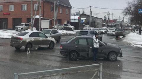 В аварии в Новосибирске пострадал ребенок