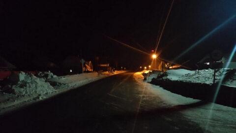 В Новосибирской области водитель сбил пешехода насмерть и скрылся