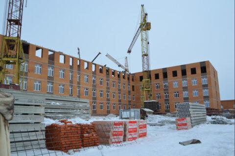 В Новосибирской области завершается строительство новой школы