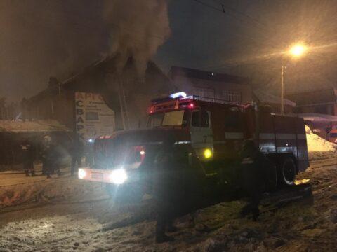 В частном хостеле Новосибирска случился пожар