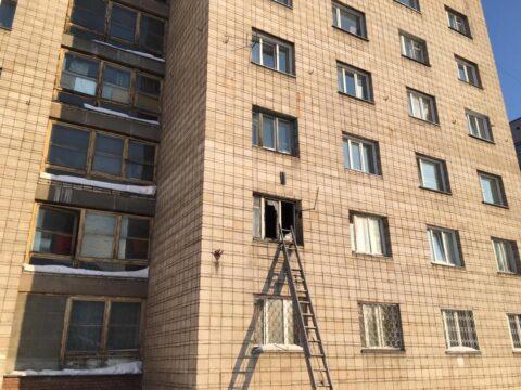 В Калининском районе Новосибирска погиб мужчина