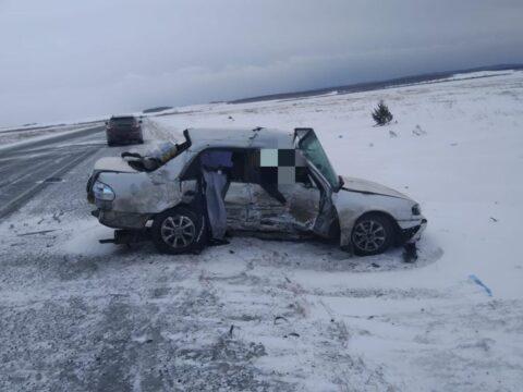 В ДТП на трассе под Новосибирском погиб водитель