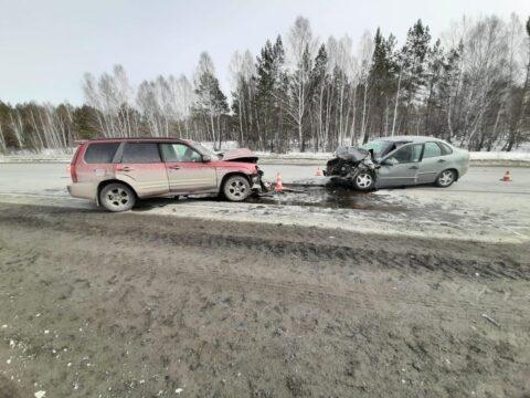 В аварии под Новосибирском пострадали пять человек