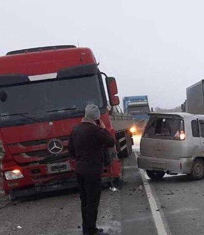 Под Новосибирском в аварии погибла 43-летняя женщина