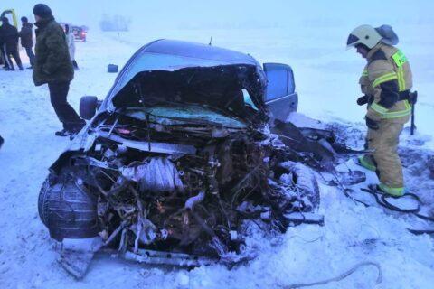 В аварии под Новосибирском погибла женщина и пострадало четыре человека