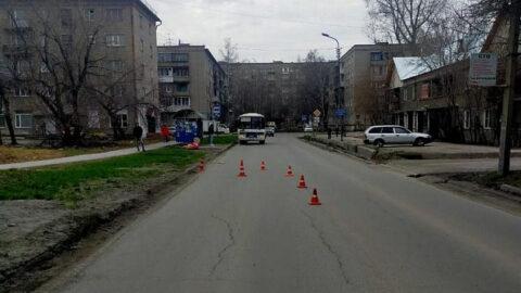 7-летнюю девочку сбили в Новосибирске