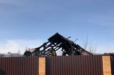 В Октябрьском районе Новосибирска пожарные не спасли целый квартал