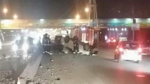 В аварии в Новосибирске пострадала женщина-пассажир