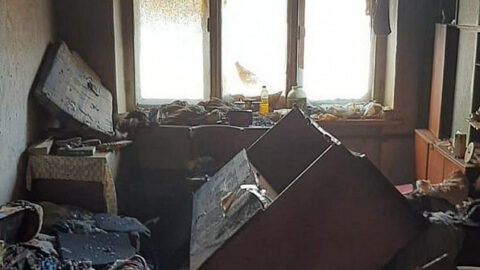 При пожаре в общежитии Новосибирска было спасено 19 человек