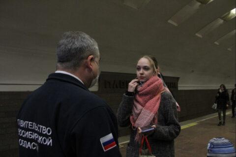 Сибирячка без маски оказала сопротивление полиции