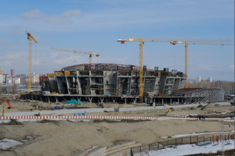 В Новосибирске скорректировали график строительства ледовой арены