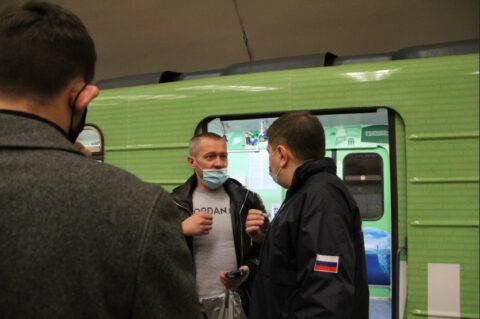 В Новосибирске продолжаются рейды по соблюдению масочного режима