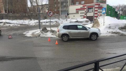 В Октябрьском и Дзержинском районах Новосибирска в ДТП пострадали дети