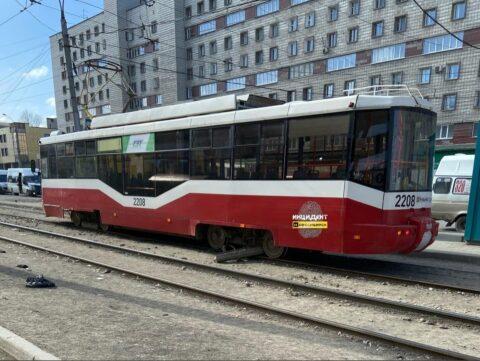 Тормозной механизм отказал у новосибирского трамвая