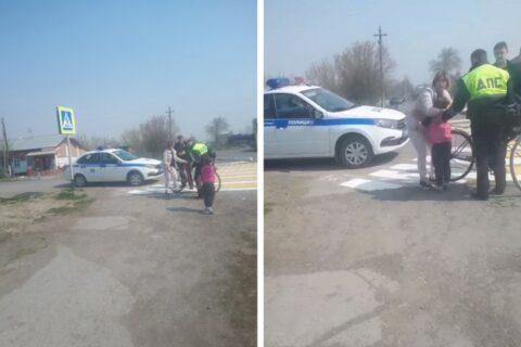 В Новосибирской области на велосипедистку наехал автомобиль