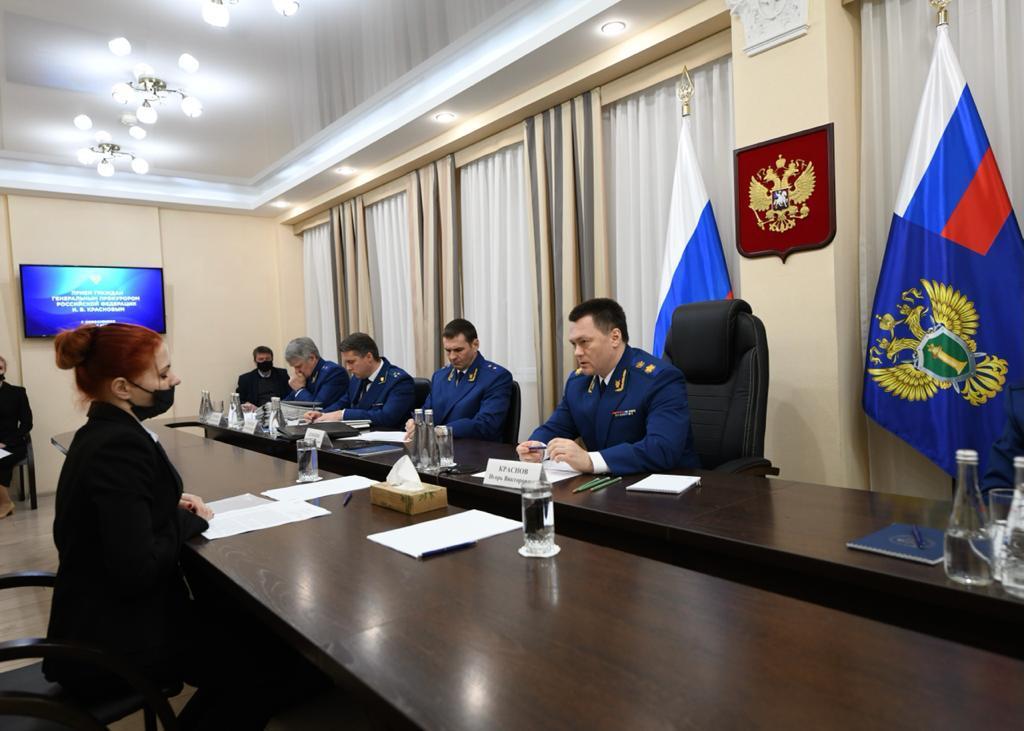 В Новосибирск прибыл генпрокурор России