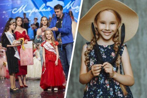 Лучшей моделью России стала семилетка из Новосибирска