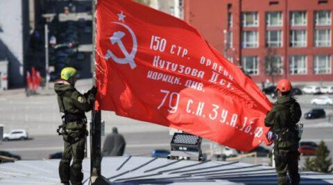 Парад Победы прошел в Новосибирске