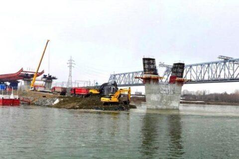 В Новосибирске начали строить подземный тоннель для четвертого моста