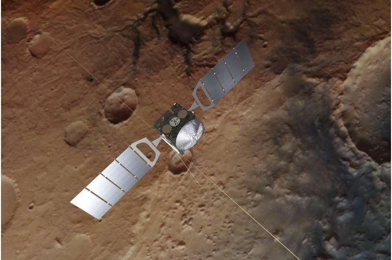 Использование служебных данных космического корабля ЕКА показывает поведение космических лучей