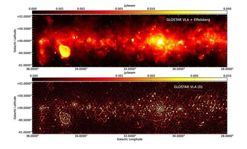 Отслеживание атомарного и молекулярного газа в Млечном Пути